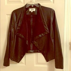 EUC- BB Dakota faux leather jacket